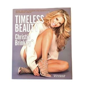 Christie Brinkley- Timeless Beauty Hardback Book